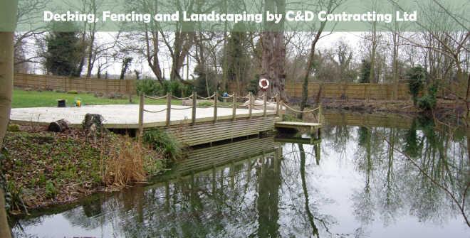 fencing, decking, landscape gardening.